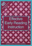 Effective Early Reading Instruction
