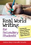 Real World Writing for Secondary Students, ppb