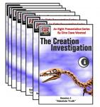 The Creation Investigation Seminar Series, 8 DVD Set